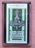 GREEN HOWARDS CAP BADGE FRIDGE MAGNET (1939)